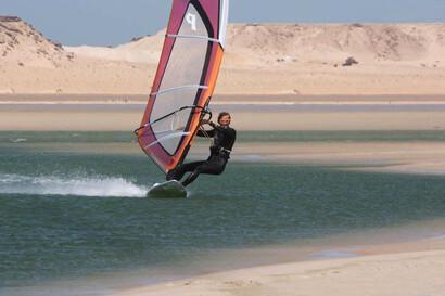 Dakhla Süd - Windsurf Revier