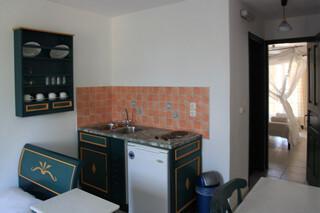 Naxos - Tasoula Appartements, Küchenzeile