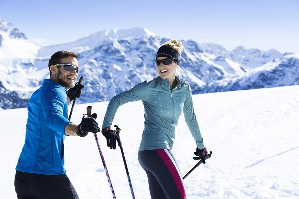 Arosa - ROBINSON Club, Langlauf, Spaß zu Zweit