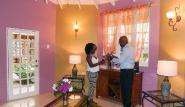 Tobago - Shepherd`s Inn, Eingangsbereich Bo Peep Suite