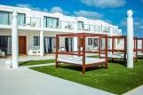 Sal - Budha Beach, Aussenansicht Zimmer mit Terrasse oder Balkon