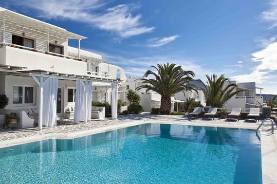 Mykonos - Anemoessa, Pool