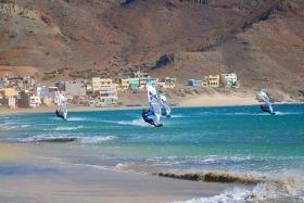 Sao Vicente - Surf Tribe, Surf Quartett Bucht