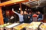 Hamata - Wohnwagencamp, Gemeinsames Abendessen