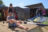 Naxos - Aloha Camp, Aufriggen