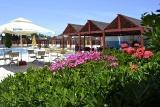 Rhodos Theologos - Sea View, Poolbereich mit Garten