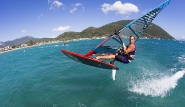 Lefkada - Club Vass, Windsurf Action