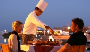 El Gouna, Captain`s Inn, Steakhouse by night