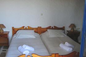 Mykonos - Villas Kalafatis, Schlafzimmer