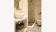 Naxia Apartments - Souterrain, Badezimmer
