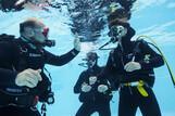 Fuerteventura - ROBINSON Club Jandia Playa, Übungstauchen im Pool
