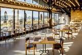 Alacati - Design Plus The S Hotel, Restaurant mit Blick Richtung Meer