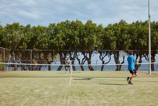Rhodos Theologos - Alex Beach Hotel, Tennisplatz