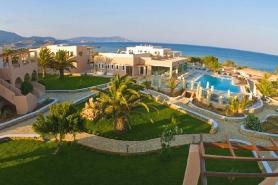 Karpathos - Irini Beach, Überblick Anlage mit Pool