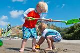 Kos - ROBINSON Club Daidalos, Kinder am Strand