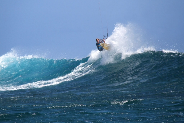 Mauritius - St. Regis Kite Action