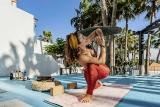 Yogastunde auf Fuerte