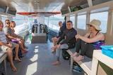 Indonesien - Nordsulawesi - Murex Bangka - viel Platz bei den Tauchausfahrten