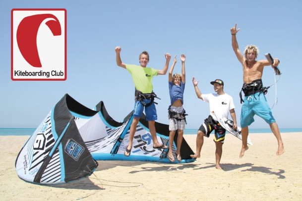 Kiteboarding-Club Action