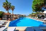Naxos - Alkyoni Beach Hotel, toller Poolbereich