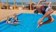 El Gouna -  Kiteboarding-Club, Stunteinlage Pool