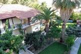 Lefkada - Villa Angela, Vogelperspektive auf Haupthaus
