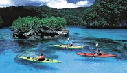 Palau - Kanuausflug