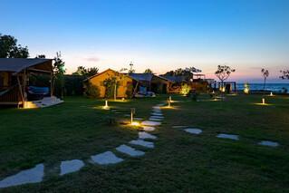 Rhodos Theologos - 'LOGOS Beach Village, Abendstimmung