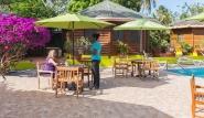 Tobago - Shepherd`s Inn, Poolbereich