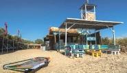 Naxos - Flisvos Lagunen Center, Ansicht