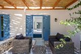 Naxos - Alkyoni Beach Hotel, Juniorsuite Terrasse