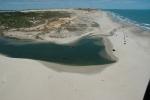 Uruau Pro Kite Brasil Helikopteraufnahme Süßwasserlagune 2010 (2)