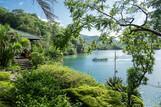 Lembeh Resort Deluxe View Cottage, Blick auf Lagune