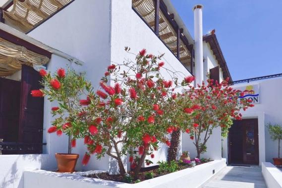 Samos, Hotel Kalidon, Eingangsbereich