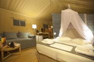 Limnos - Surfcamp Keros, Luxus Zelt Innenansicht