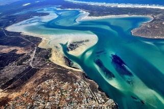 Südafrika - Kitecity Langebaan, Luftaufnahme