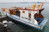Sulawesi - Gangga Island Resort - Gangga Divers, Boot