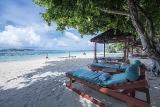 Gangga Island Resort, Strandarea
