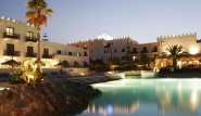 Kos Psalidi - Oceanis Beach Resort, Hotel bei Nacht