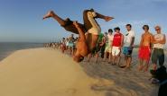 Jericoacoara - Capoeira auf der Düne