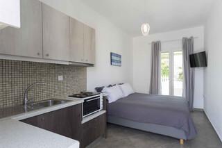 Naxos - Olga Apartments, Küchenbereich