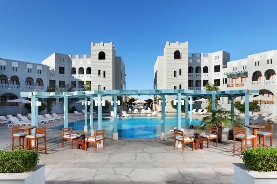 El Gouna, Hotel Fanadir, Aussenansicht