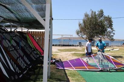 Sigri - Lesbos, Sigri Surfcenter, Material