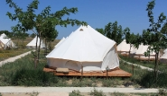 Limnos - Surf Club Keros Lodge, Mini Safari Zelte
