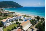 Lefkada - Surf Hotel - Überblick Hotel von oben