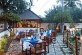 Lombok - Villa Almarik, Restaurant außen