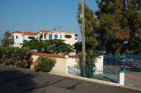 Sigri-Lesbos - Hotel Orama, Garten