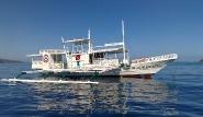 Busuanga -  El RioY Mar, Dugong Dive Center, Tauchboot