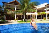 Cumbuco - Windtown, Relaxen im Pool