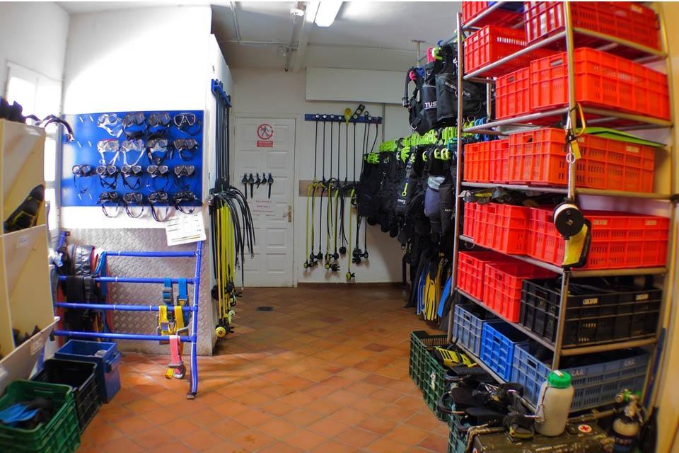 Fuerteventura - Tauchbasis Stefan Heidler, Equipment